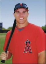 2009 Arizona League Rookie Test Issue MIKE TROUT Los Angeles Angels