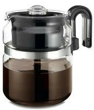 Stovetop Percolator Coffee Pot Glass 8 Cup 40 Oz …