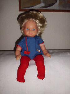 Puppe Schildkröt Schlummerle Kurzhaar Blond 37cm