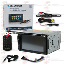 "BLAUPUNKT 2-DIN 6.2"" TOUCHSCREEN DVD BLUETOOTH STEREO PLUS LICENSE PLATE CAMERA"