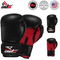 ADii™ Boxing Gloves Men Women Training Sparring mitts MMA Punching Heavy Bag