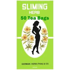 Slim Sliming German Herb 50 Tea Bags Weight Loss Laxative Natural