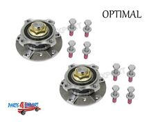 NEW BMW E39 525i 528i 530i Set of 2 Front Wheel Hubs with Bearing + 8 Bolts Kit