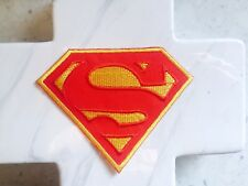 Superman Kids Movie  Red Hero S Comic Iron On Patch Patches Shield