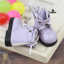 1/6 BJD Shoes Yosd Lolita Boots Dollfie DIM DOD AOD LUTS Dollmore DZ AF #Purple