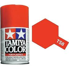 Tamiya TS-8 Italian Red Spray Paint Can 3 oz 100ml 85008 Mid-America Naperville