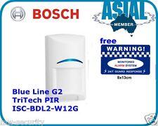 Bosch Alarm Blue Line Gen2 TriTech PIR Sensor Motion Detector ISC-BDL2-W12G