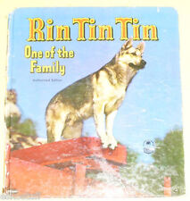 Rin Tin Tin - One of the Family 1953 Cozy Corner book  Nice! SEE!