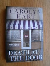 Carolyn Hart Death at the Door SIGNED 1st ed HC New