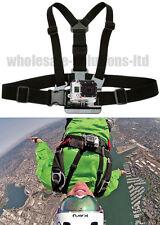 Body Strap Camera Mount GoPro Go Pro POV Harness Video Camera Mounting Vest