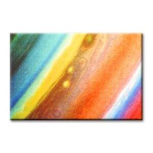"""cc art -CANVAS PRINT ARTWORK- COLOURED PALETTE -24""""x36"""""""
