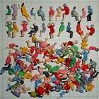 500 Sitzende Figuren für wagen. Reisende Figure. Versand Frei!  (Spur H0) - E005