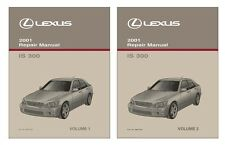 2001 Lexus IS 300 Shop Service Repair Manual Book