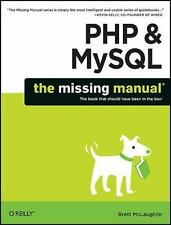 Php and MySql by Brett McLaughlin (2011, Paperback) The Missing Manual
