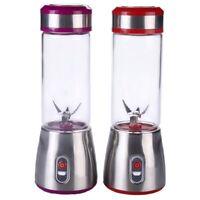 Mini Electric Usb Ricaricabile Portatile Blender Smoothie Maker Juicer Cup  P5D8