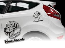 Aufkleber Weimeraner Weimaraner H439 Hundeaufkleber Wunschname Auto