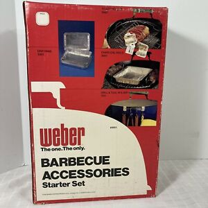 Weber Grill Barbecue Accessories Starter Kit 8801 Sealed Vintage