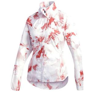 adidas Damen Jacke TKO Xpose Graphic Jacket Women Laufjacke mit Kapuze Pack It
