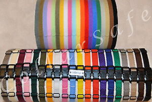 CollarSafe PUPPY ID COLLAR SET - Nylon Collars & Litter Bands made with VELCRO®