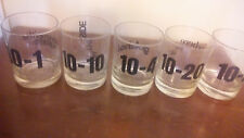 Set of 5 Vintage Joke Glasses