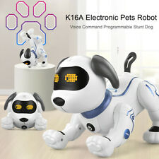 LE NENG TOYS K16A Electronic Pets Robot Dog Stunt Dog Voice Command N8W6