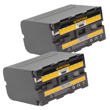 2x Batteria Patona 6600mah li-ion per Sony HDV FX1,HDV Z1,HVL-20DW,HVL-20DW2