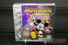 Mickey Mouse: Magic Wands! (Game Boy, 1998) H-SEAM SEALED! - RARE!