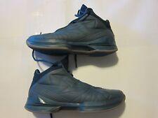USED Men's BrandBlack Force Vector Leather Basketball Shoes 9.5 Blue 217BB / BLU