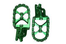 GREEN Foot Pegs KAWASAKI KX KX250 KX250F KX400 KX450F 250 250F 400 450 450F