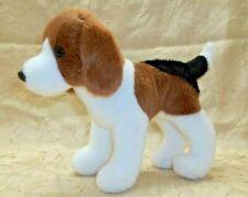 "Douglas Cuddle Toy Puppy Dog Bob Beagle Tri Color Plush 7"" Item # 3994 2015"