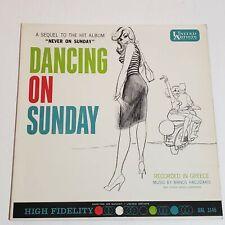 Manos Hadjidakis: Dancing On Sunday: 1961 LP Album Stage Screen (United Artists)