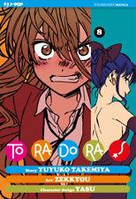 manga -  TORADORA! tora dora N. 8 - nuovo j-pop