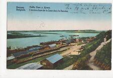 Belgrade Embouchere de la Save Dans Le Danube 1926 Postcard 271a