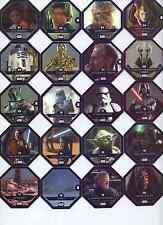 REWE Star Wars Cosmic Shells auch Glitzer Karten aus Liste 10 Karten aussuchen