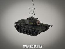 USA M48-A2 Tank Vietnam War Army USMC Christmas Ornament 1/72 A1 1954, 1955