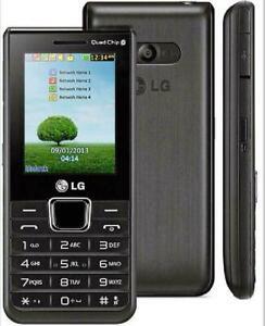 "LG A395 Quad SIM 2G GSM 850 900 1800 1900 2.2"" 1.3MP CAMERA Keyboard Phone"