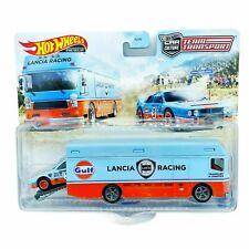 Lancia Rally 037 + Euro Hauler GULF *RR* Hot Wheels 2021 Team Transport  1:64