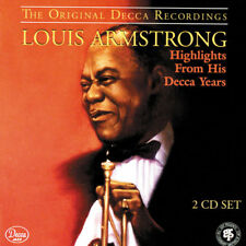 Highlights from His Decca Years by Louis Armstrong (CD, Sep-1994, 2 Discs, Decca