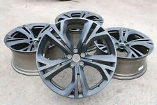 "SET OF 4 GENUINE ORIGINAL OEM JAGUAR F-PACE SVR 21"" ALLOY WHEELS MATTE BLACK"