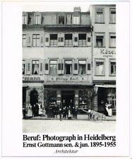 - BERUF: PHOTOGRAPH IN HEIDELBERG. Ernst Gottmann sen. & jun. 1895-1955. Porträ