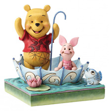 Disney Traditions Jim Shore Ornament 50 Years Pooh Bear Piglet Figurine Figure