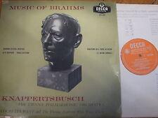 LXT 5394 Musica di Brahms/knappertsbusch O/S