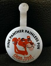 Pink Panther Painless Pin, Clean 'n Treat Medicated First Aid Pads Advertising