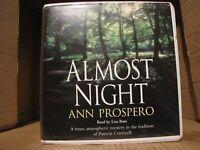 "Ann Prospero's ""Almost Night"" an Audiobook in CD Format read by Liza Ross"