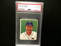 1950 Bowman Baseball  #105 BOB DILLINGER Athletics PSA 4
