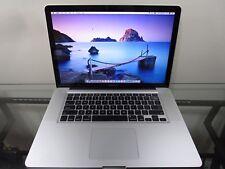 Apple MacBook Pro 15 Quad i7 PRE-RETINA MacOS-2015 8GB RAM 750GB + 120GB SSD