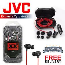 JVC EXTREME EXPLOSIVES HA-FX1X XX IN-EAR HANDSFREE DEEP BASS STEREO EARPHONES