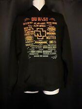 Du Hast Tour Rammstein Sweater Hoodie