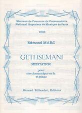Gethsemani Méditation pour Cor chromatique en fa et piano