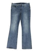 "Gap Long & Lean Bootcut Jeans Women's Size 14 Tall Med Wash Stretch W35"" L36"""